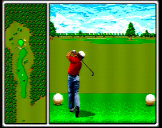 Arnold Palmer Tournament Golf - 4 Megabit - Genesis - 1989
