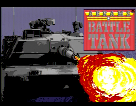Abrams Battle Tank Genesis 1 32X Composite - 55677 Colors