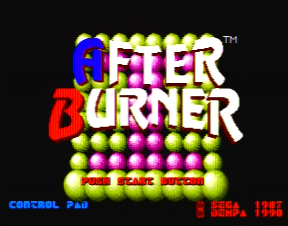 After Burner Genesis 1 32X Composite - 54534 Colors