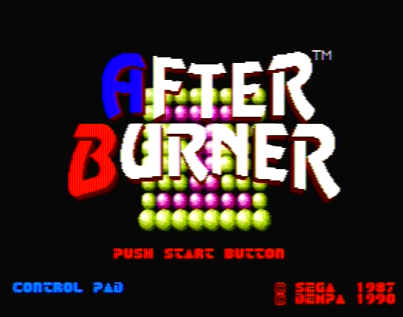 After Burner Genesis 1 32X Composite - 33677 Colors