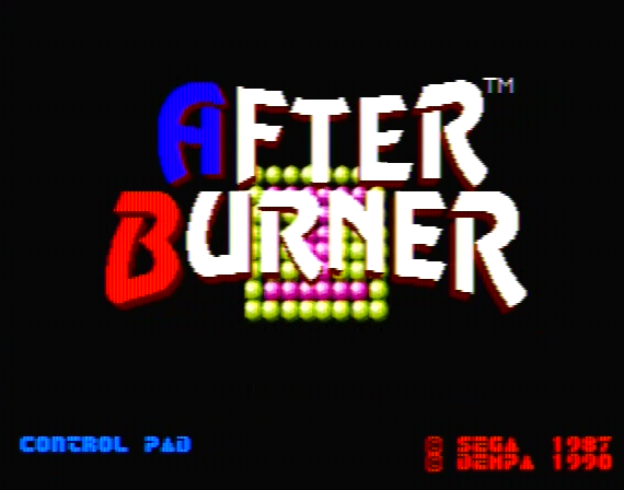 After Burner Genesis 1 32X  Composite - 24303 Colors