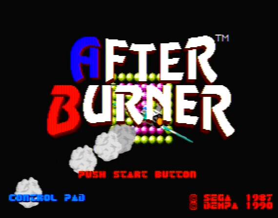 After Burner Genesis 1 32X Composite - 28949 Colors