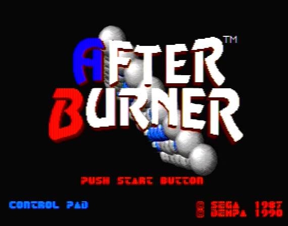 After Burner Genesis 1 32X Composite - 28943 Colors