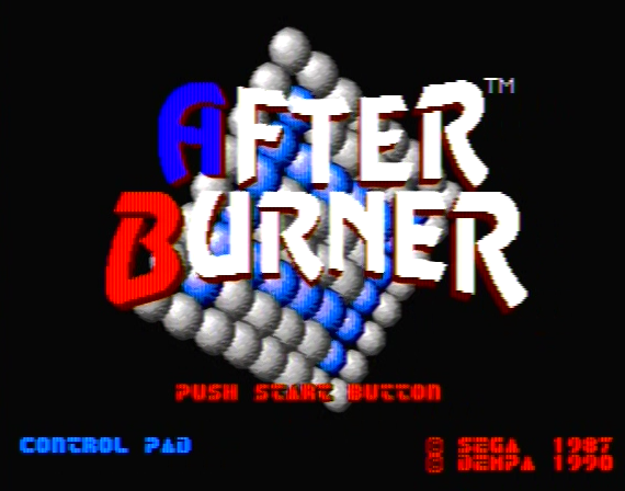 After Burner Genesis 1 32X  Composite - 42841 Colors