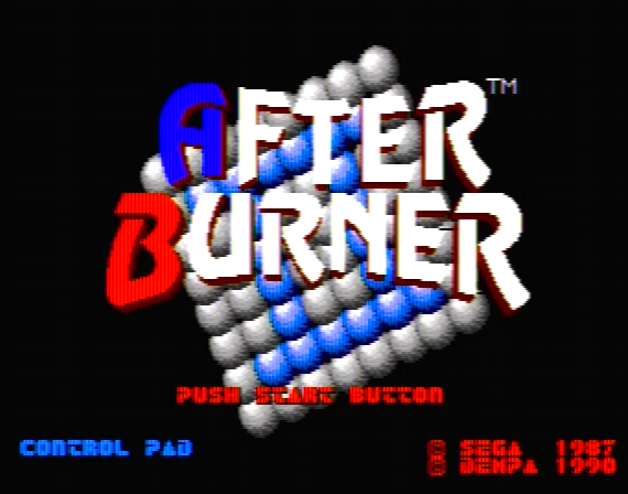 After Burner Genesis 1 32X Composite - 16781 Colors