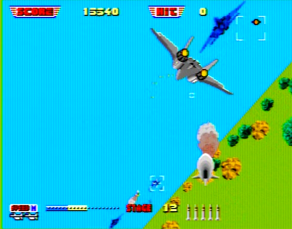After Burner II - 4 Megabit - Genesis - 1990