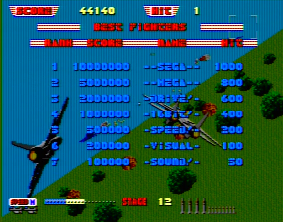After Burner Genesis 1 32X Composite - 43372 Colors