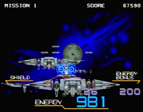 Galaxy Force II - 8 Megabit - Genesis - 1991