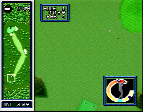 Hole in One Golf - 8 Megabit - SNES - 1991