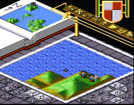 Populous - 4 Megabit - SNES - 1991