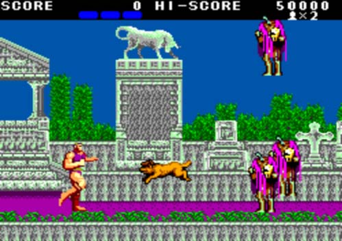 Altered Beast SMS - 1988