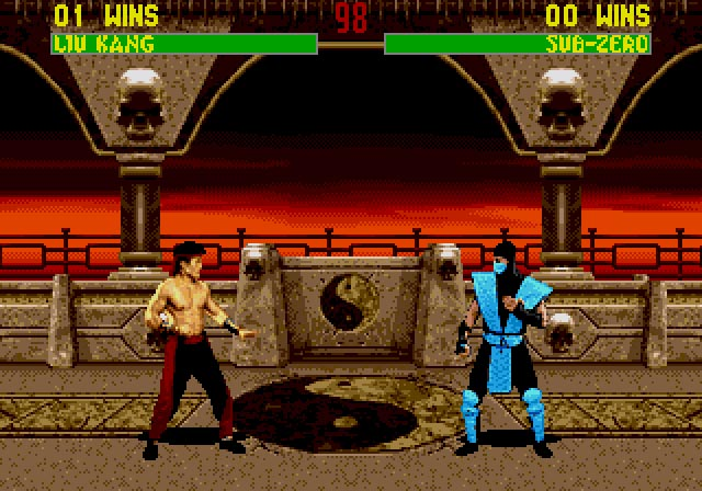 Kombat Room - Genesis Emulation