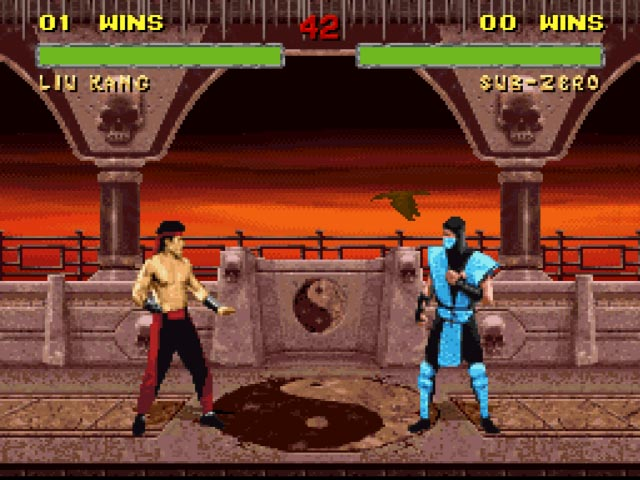 Kombat Room - SNES Emulation
