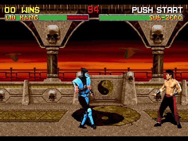 Kombat Room - 32X Emulation
