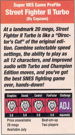 Street Fighter Ii Coverage 1992 1993 Www Gamepilgrimage Com