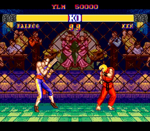 Street Fighter II CE - PC-Engine - Emulation Shot 2007