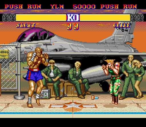 Street Fighter II: CE, PC-Engine (Japan), 1993