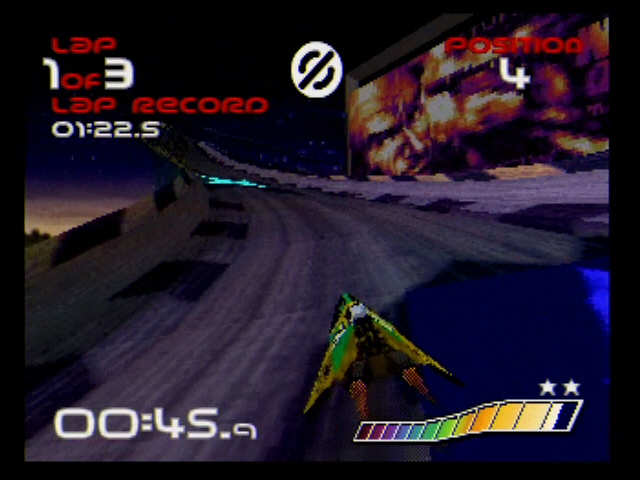 Wipeout Saturn S-Video