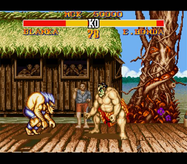 Street Fighter II Turbo - SNES - Emulation Shot 2007