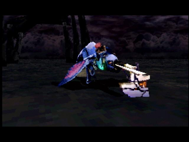 Panzer Dragoon Zwei - Saturn - S-Video