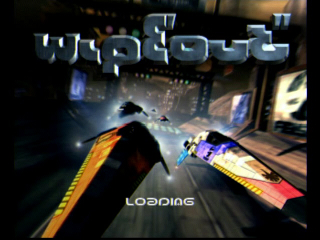 Wipeout PS1 S-Video