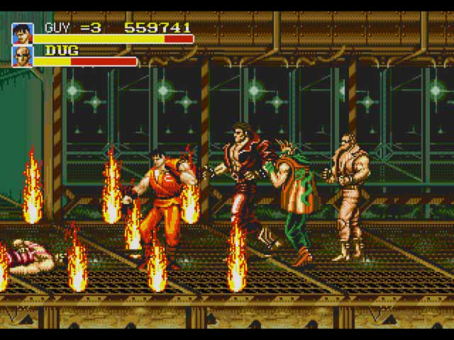 Final Fight CD - Sega CD - 1993