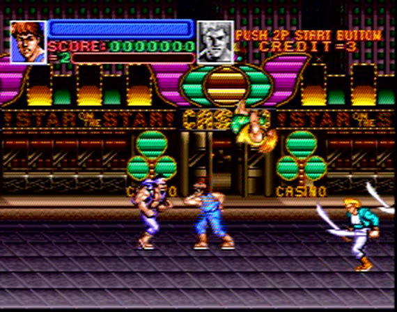 Super Double Dragon - 8 Megabit - SNES - 1992